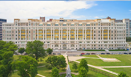 Old Cook County Hospital Redevelopment