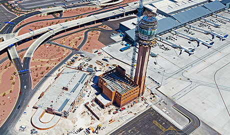 McCarran International Airport – New ATCT and TRACON