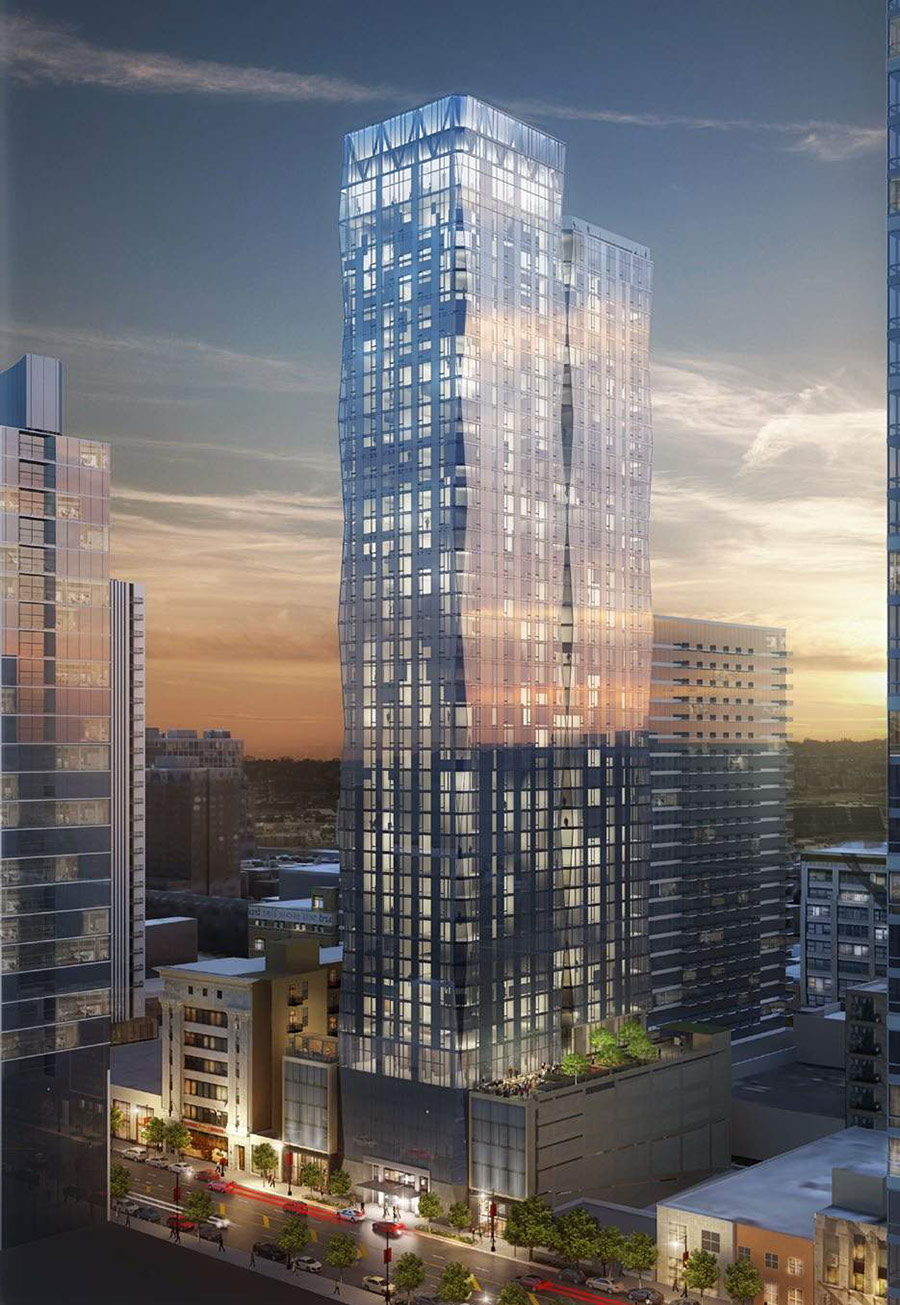 1326 >> Construction Begins On New Apartment Tower At 1326 S Michigan