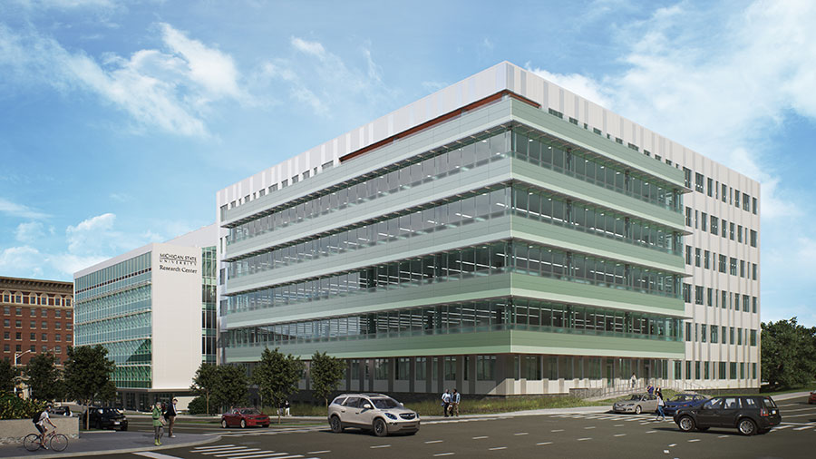 Renderings reveal next phase in Michigan State University's