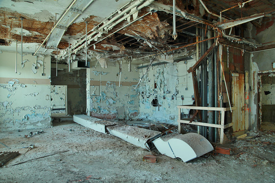 Photos Look Inside The Old Vacant Cook County Hospital