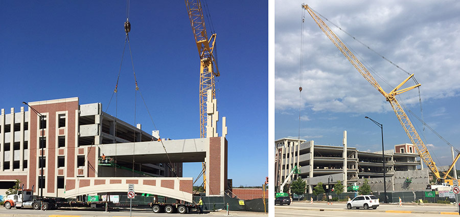 Orland Park Main Street Parking Structure Opens To Public