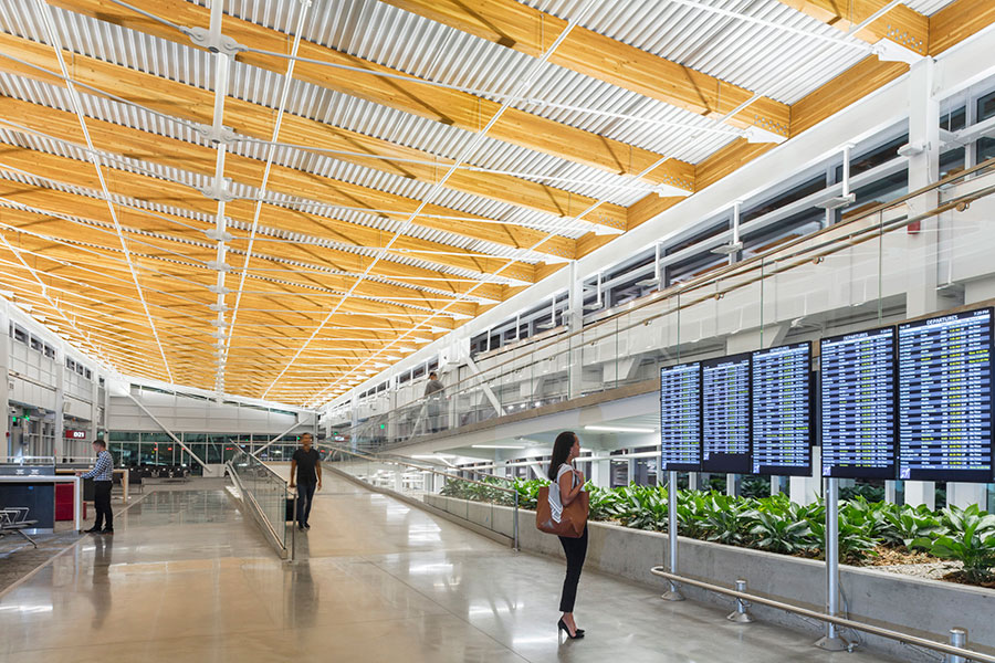 Sea-Tac Airport's Concourse D Annex wins DBIA award