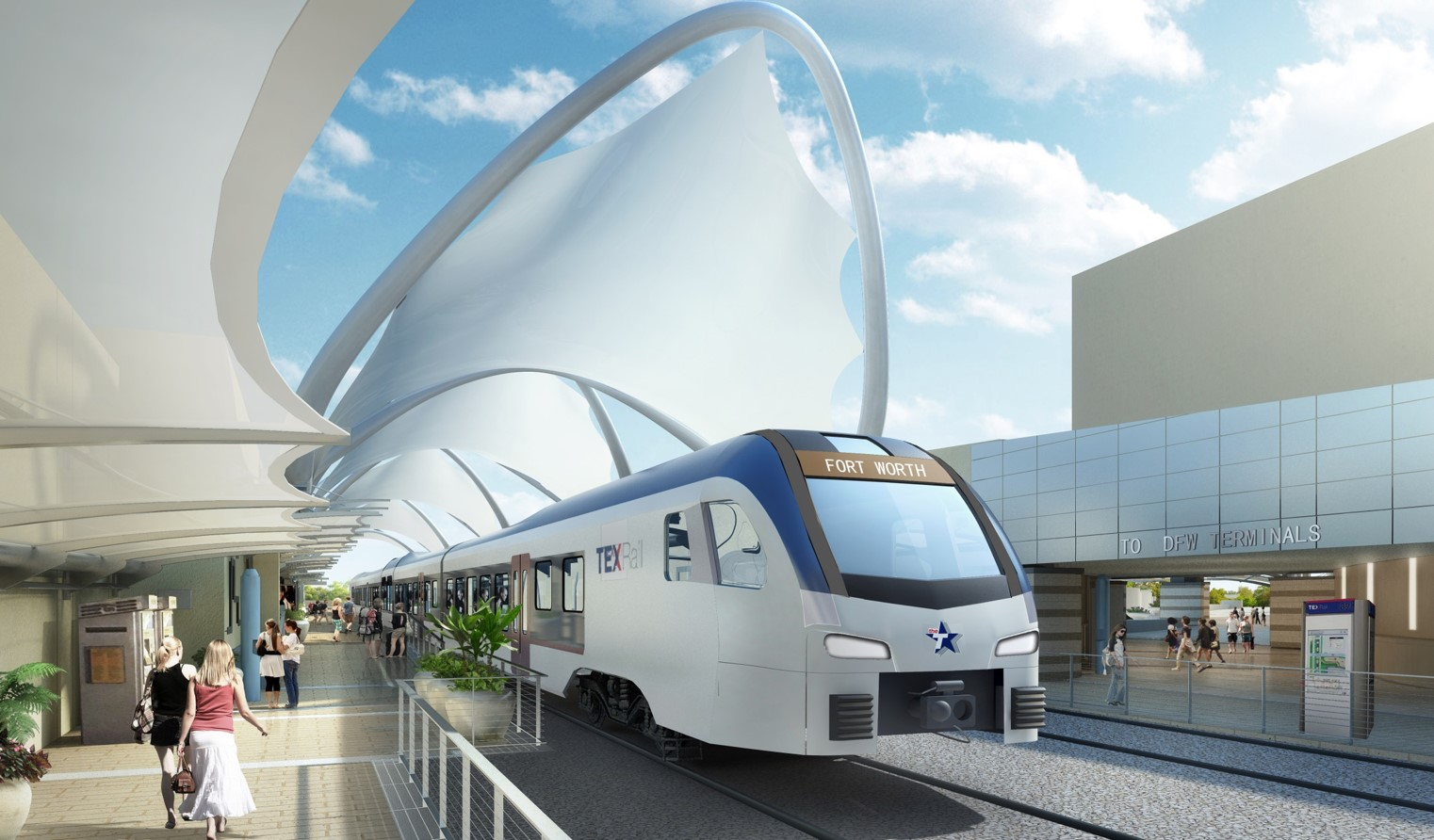 Archer western to build tex rail station at dallas fort - Interior design firms fort worth tx ...