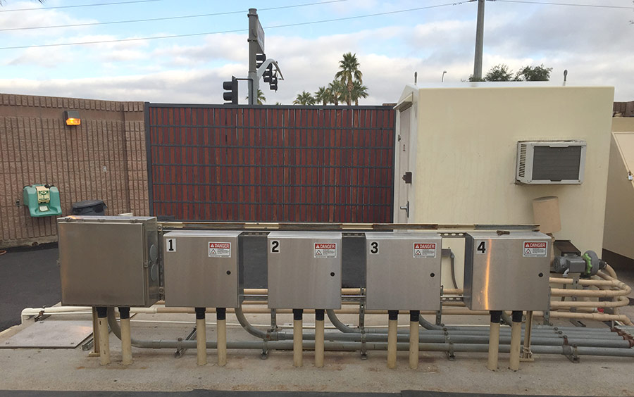 Manganaro Lift Station Wins Wastewater Collection Project of