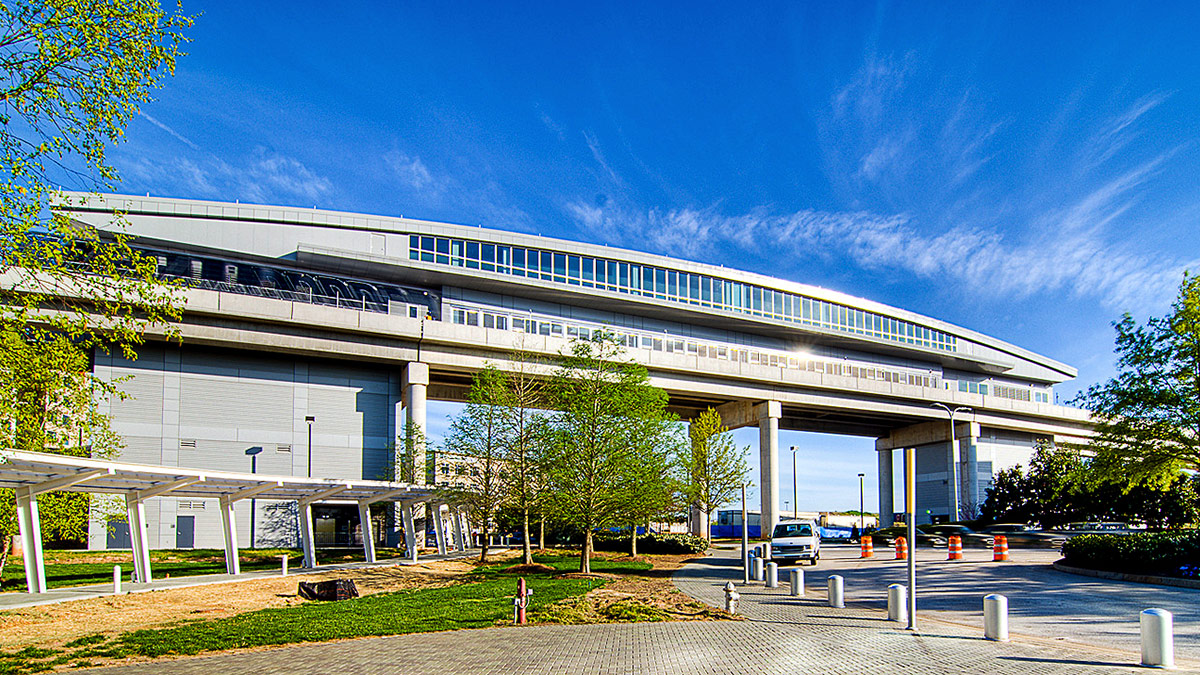 Consolidated Rental Car Facility Automated People Mover