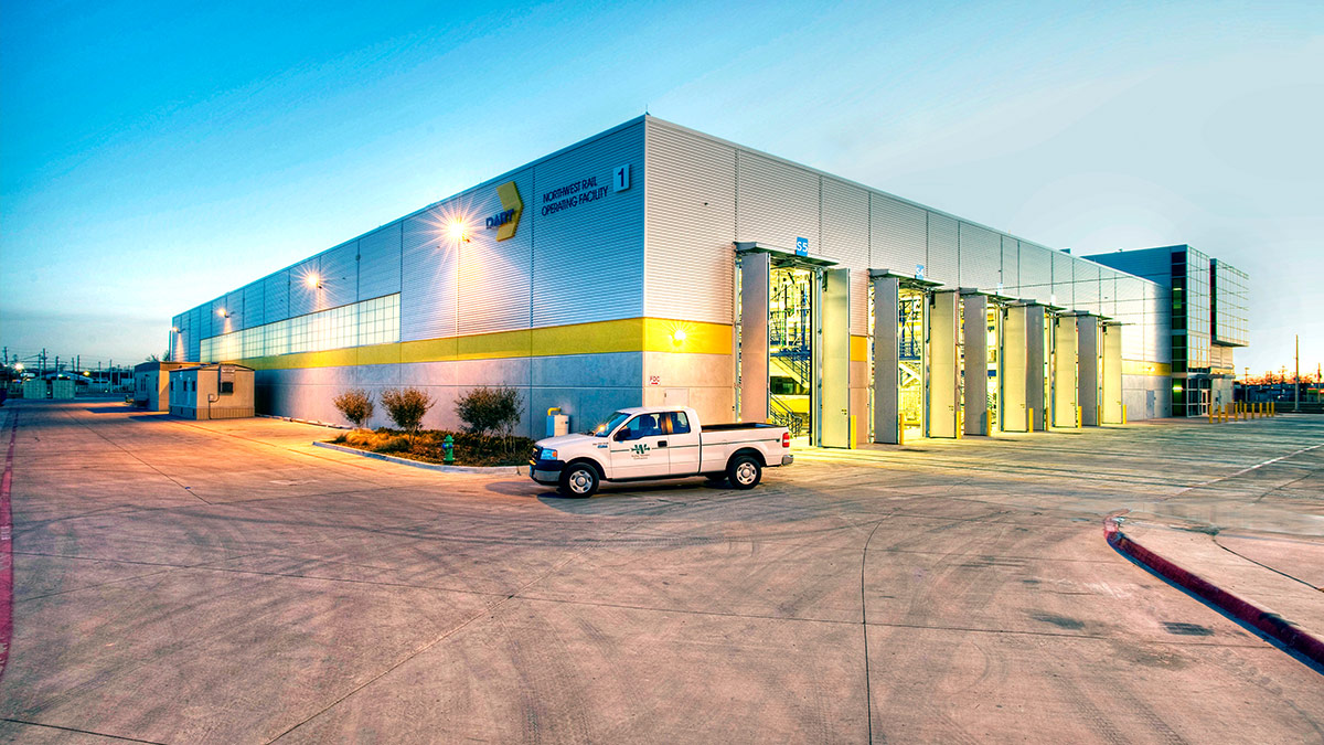 Dallas Water Company >> DART Northwest Rail Operations Facility