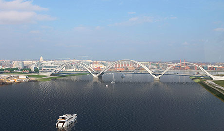 Frederick Douglass Memorial Bridge