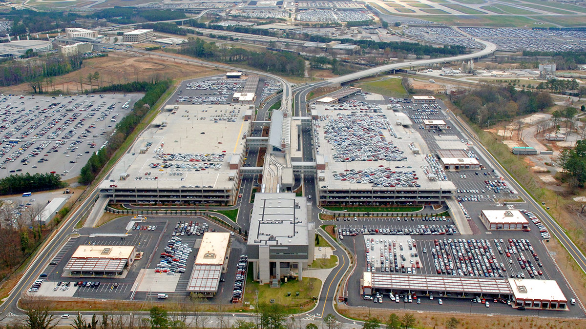 Atlanta Airport International Terminal Rental Car