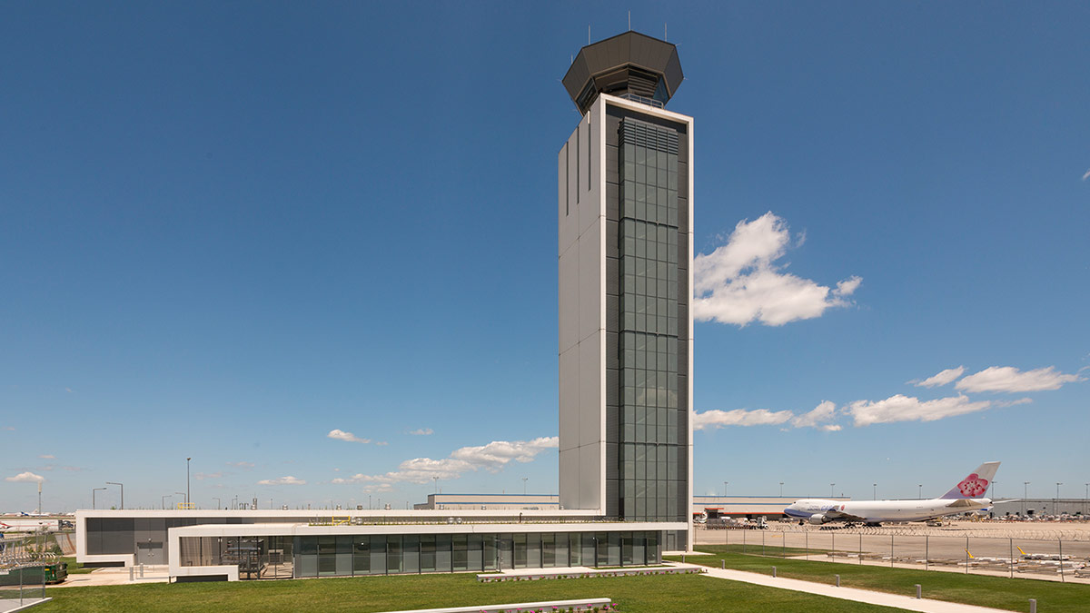 O Hare International Airport South Air Traffic Control Tower