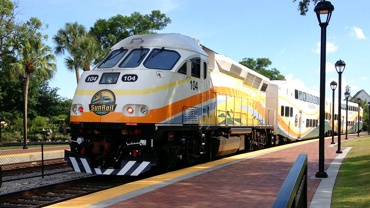 Orlando Central Florida Commuter Rail Transit