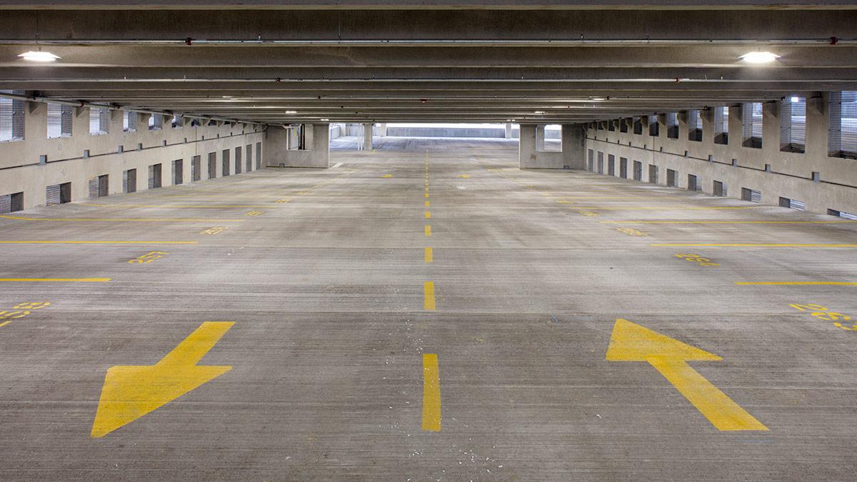 Orland Park Main Street Parking Garage