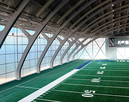Northwestern University - Ryan FIeldhouse & Walter Athletics Center