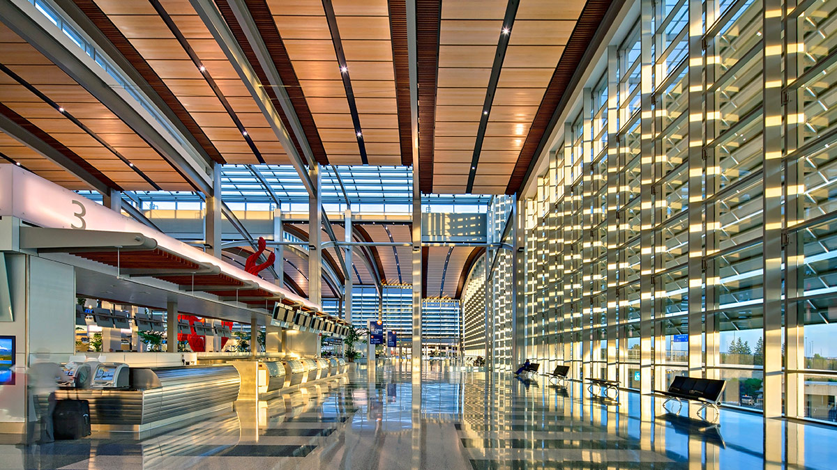 How To Design Spaces For People With >> Sacramento International Airport – Terminal B Modernization