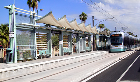 Valley Metro Rail – Light Rail Station Finishes